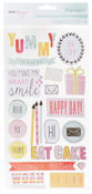 Gold Foil Phrase & Accent Thickers - Dear Lizzy