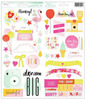 Fine & Dandy Phrase & Accent Stickers - Dear Lizzy