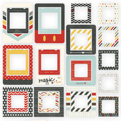 Say Cheese Chipboard Frames - Simple Stories