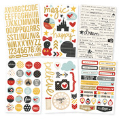 Say Cheese II Foil 4 x 6 Sticker Sheet - Simple Stories