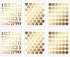 Fine & Dandy Gold Foil Sticker Book - Dear Lizzy