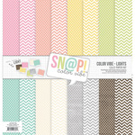 Snap Lights Color Vibe Paper Kit - Simple Stories