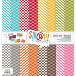 Snap Brights Color Vibe Paper Kit - Simple Stories