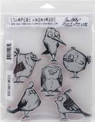 Bird Crazy - Tim Holtz Cling Rubber Stamp Set