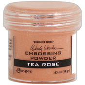 Wendy Vecchi Embossing Powders 1oz - Tea Rose