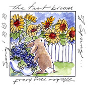 First Bloom Window - Art Impressions Windows To The World Cling Stamp