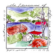 Pleasures Window - Art Impressions Windows To The World Cling Stamp