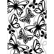 "Embossing Folder 4.25""X5.75""-Butterflies"