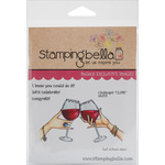 """Closeups """"Clink"""" - Stamping Bella Cling Rubber Stamp"""