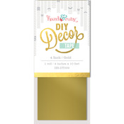 "DIY Decor Tape 4""X10'-Gold"