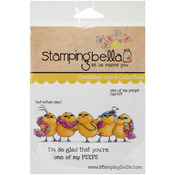 One Of My Peeps - Stamping Bella Cling Rubber Stamp
