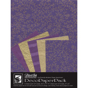 Napa Purple - Deco Paper Pack By Black Ink Papers