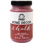 Tuscan Red - FolkArt Home Decor Chalk Paint 8oz