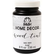 White - FolkArt Home Decor Wood Tint