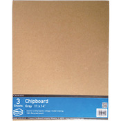 "11""X14"" - Crescent Recycled Chipboard Value Pack 3/Pkg"