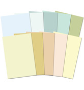 Shades Of Nature - Adorable Scorable 350gsm Cardstock Assortment Pack A4 10/Pkg
