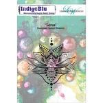 Lotus - Indigoblu Cling Mounted Stamp