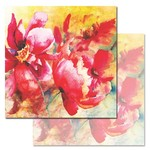 Parrot Tulip Paper - Watercolored Memories - Ken Oliver