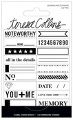 Signature Essentials Journaling Stickers - Teresa Collins