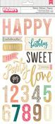 Celebrate Phrase Stickers - Confetti - Maggie Holmes