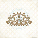 Ironwork Arch Laser Cut Chipboard - Blue Fern Studios
