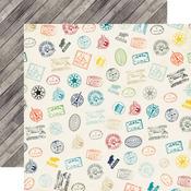 Stamps Paper - Jack & Jill Boy - Echo Park