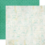 Dress Pattern Paper - Jack & Jill Girl - Echo Park