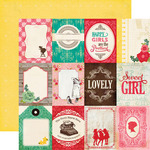 Journal Cards 3 x 4 Paper - Jack & Jill Girl - Echo Park