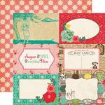 Journal Cards 4 x 6 Paper - Jack & Jill Girl - Echo Park