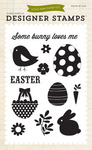 Some Bunny Loves Me Stamps - Happy Easter - Echo Park