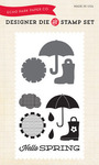 Hello Spring Die & Stamp Set - Sunny Days Ahead - Echo Park