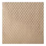 Lattice Kraft With Foil Cardstock - Bazzill