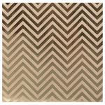 Chevron Kraft With Foil Cardstock - Bazzill