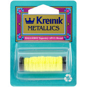 Lemon Grass - Kreinik Metallic Tapestry Braid #12 11yd