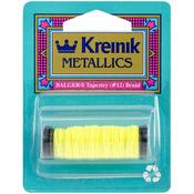 Lemon Grass - Kreinik Metallic Tapestry Braid #12 11yd