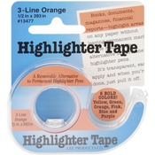 Orange Highlighter Tape