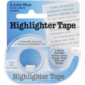 Blue Highlighter Tape