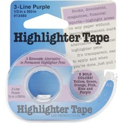 Purple Highlighter Tape