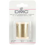 Light Gold - DMC Metallic Embroidery Thread 43.7yd
