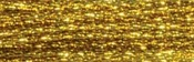 Dark Gold - DMC Light Effects Embroidery Floss 8.7yd