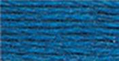 Very Dark Baby Blue - DMC Pearl Cotton Skein Size 3 16.4yd