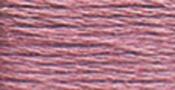 Medium Antique Mauve - DMC Pearl Cotton Skein Size 3 16.4yd