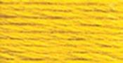 Dark Lemon - DMC Pearl Cotton Skein Size 3 16.4yd