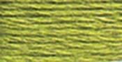 Very Light Avocado Green - DMC Pearl Cotton Skein Size 3 16.4yd