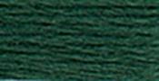 Very Dark Blue Green - DMC Pearl Cotton Skein Size 3 16.4yd