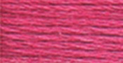 Medium Cranberry - DMC Pearl Cotton Skein Size 3 16.4yd
