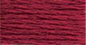 Medium Garnet - DMC Pearl Cotton Skein Size 3 16.4yd