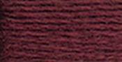 Very Dark Garnet - DMC Pearl Cotton Skein Size 3 16.4yd