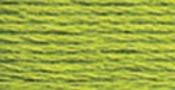 Light Parrot Green - DMC Pearl Cotton Skein Size 3 16.4yd