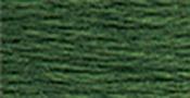 Very Dark Forest Green - DMC Pearl Cotton Skein Size 3 16.4yd